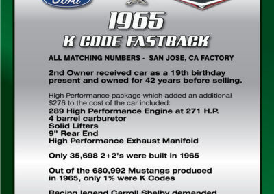 65-K-Mustang